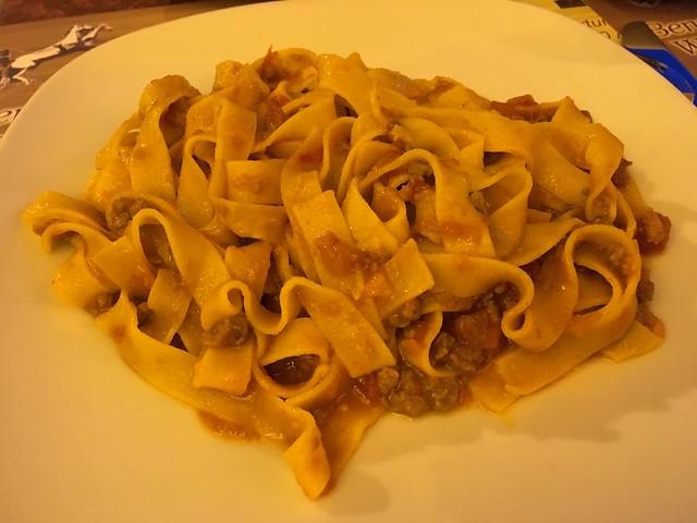 Tagliatelle alla bolognese - La Biga