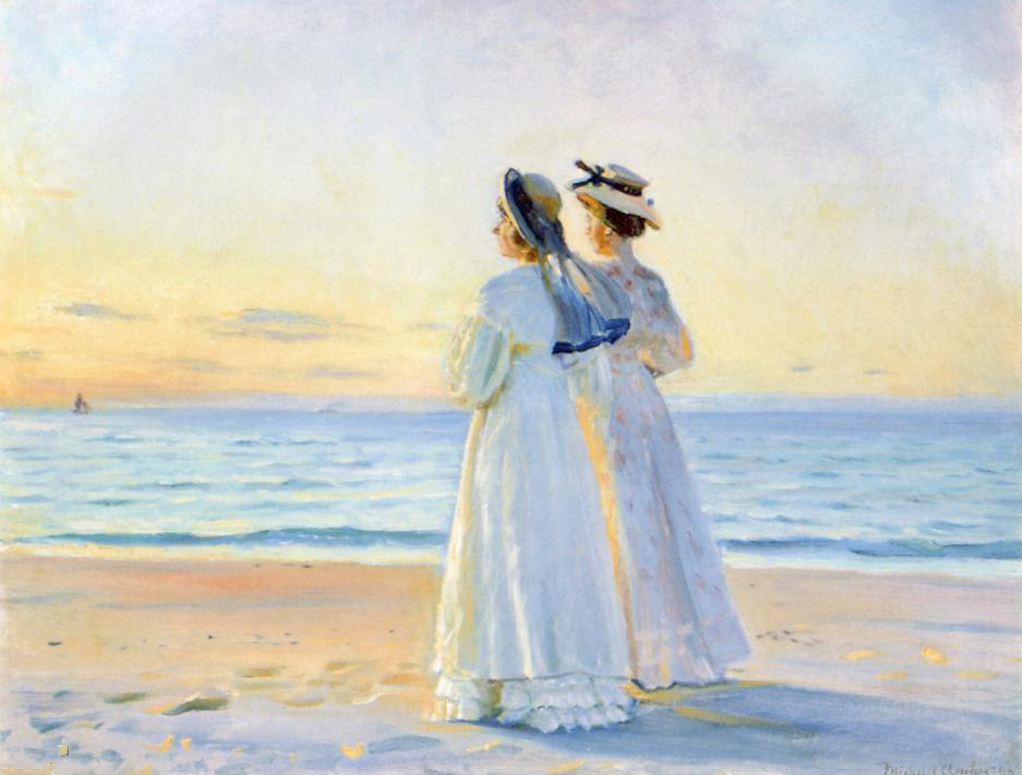 Skagen by Michael Peter Ancher, c.1900