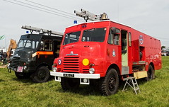 1956 Bedford RLHZ PGW340 - Goddess posing as 14 AG 27 in the livery of RAF Luqa Fire Service