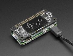 Adafruit 128x64 OLED Bonnet for Raspberry Pi