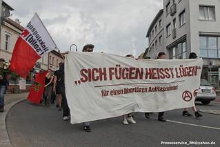 2017.07.15 Oranienburg Gedenkdemo Erich Muehsam (1)