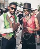 Fly at the Fest. #ChiCity #WestTown #WickerPark #MensFashion #Dapper #streetphotographer #instagood #insta_chicago #chigrammers #chigram #chigraffiti #Chicago #StreetFest #DoDivision #streetphotography #newspaper #streetarteverywhere #streets