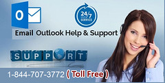 Outlook Email Help Support 1-844-707-3772 Phone Number