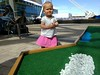 Mini golf at the Denver airport