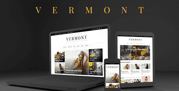 Vermont WordPress Theme free download
