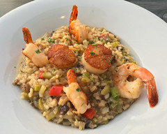 Seafood Champagne Risotto