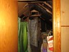 Upstairs bedroom closet