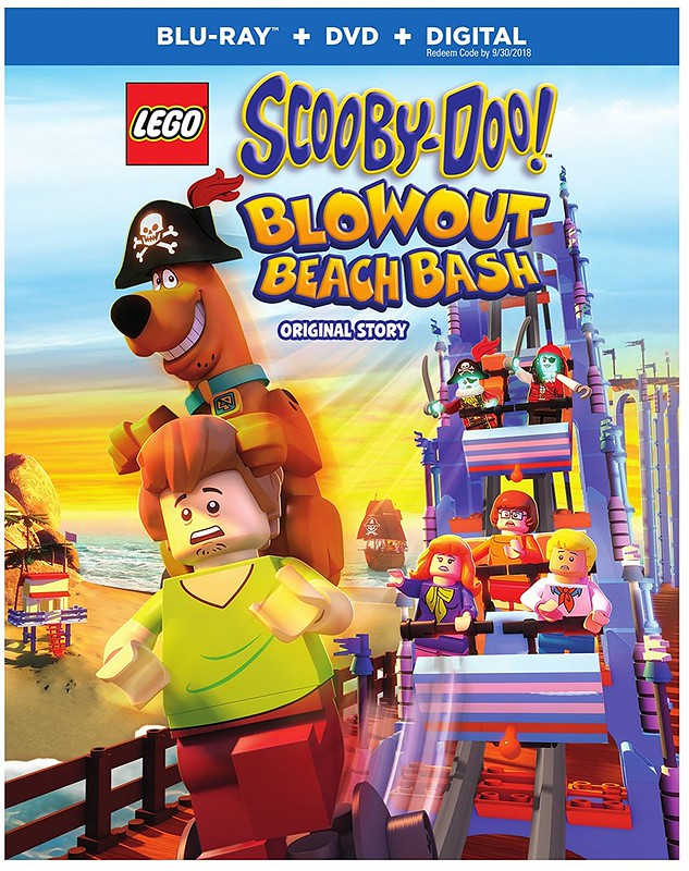 Lego Scooby-Doo! Blowout Beach Bash Blu-Ray