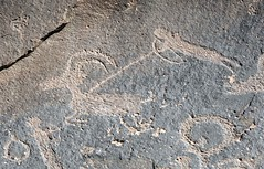 Petroglyphs / Sand Island Site