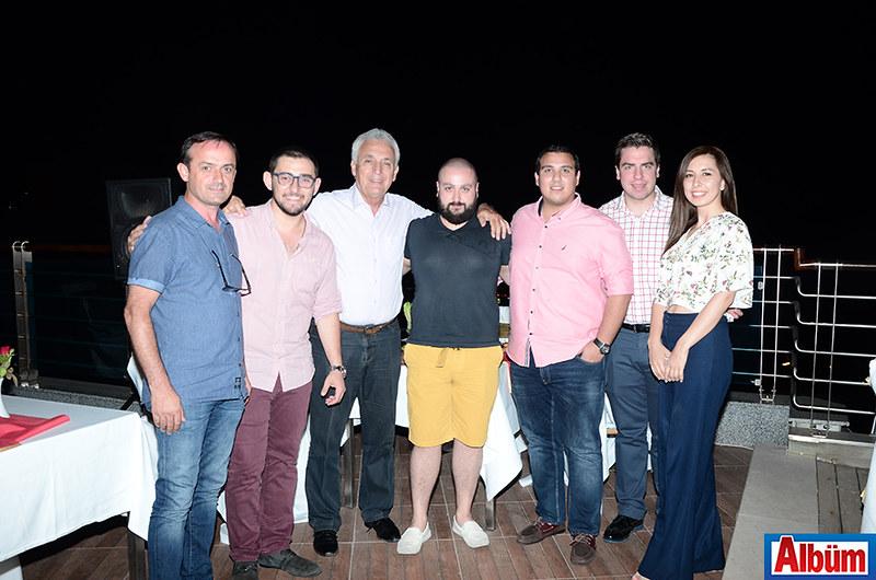 Mehmet Nedanlı, Mustafa Tombak, Rıdvan Kavi, Erhan Us, Kadirhan Kestaneci, Yiğit Akovalı, Bahar Cırık