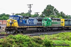 CSX 7914 | GE C40-8W | CSX Memphis Terminal Subdivision