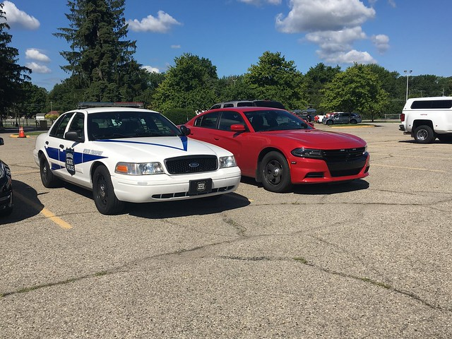 ISP Vic & An Unmarked Sheriff Charger