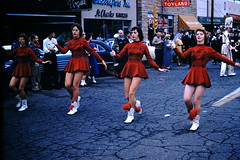 Found Photo - Howard College Homecoming Parade - 1959