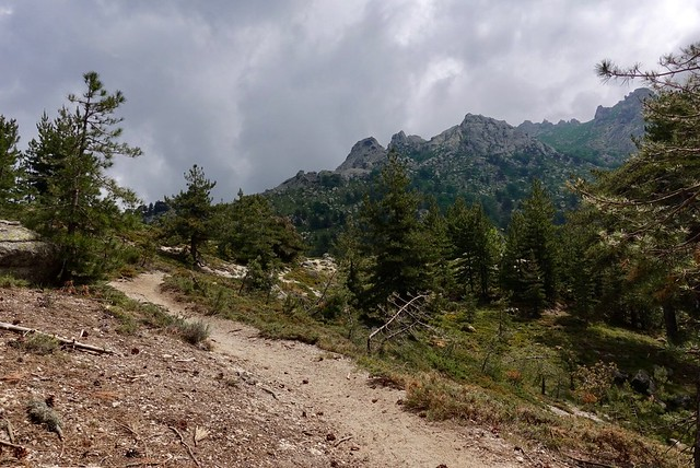 Trail to Refuge Prati