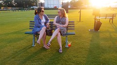 Anastasia And Sue On The Grass Courts
