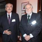 Hernán Santa María, CIS Consultores; Andrés Echeverría, Johansson Langlois Abogados