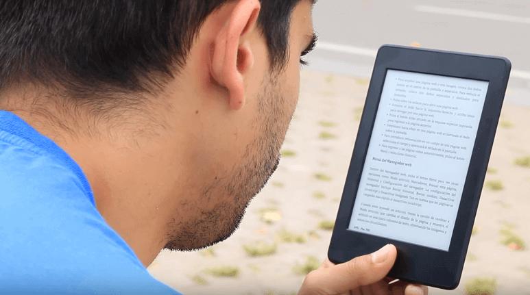 Análisis del Kindle Voyage