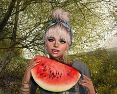 Feeling melon fresh