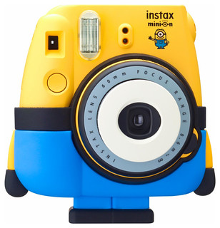 專業小小兵迷必備收藏!Fujifilm 小小兵 instax Mini 8 拍立得相機 Minion Instax mini 8 Instant Film Camera