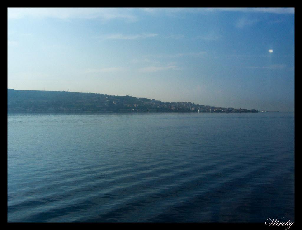 Crucero por el Mediterráneo - Estrecho de Mesina