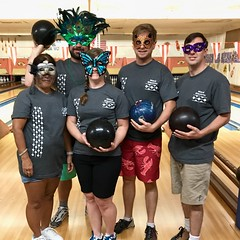 Maui Electric BBBS Bowl for Kids Sake - June 24, 2017: Team Maui Electric is ready to bowl!