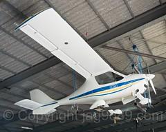 Flight Design CTSW Propeller Flugzeug (68-AFU), Flughafen Luzern-Beromünster, Schweiz