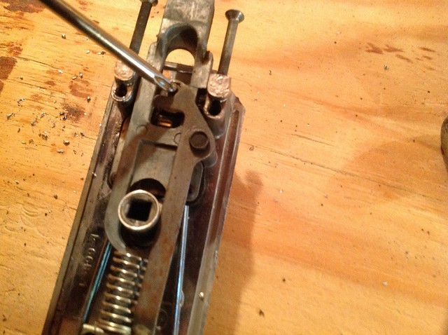 How To Replace The Door Lock On The Bargman L66 Vintage
