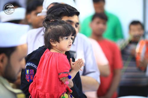 Devotees seeking blessings: June 13