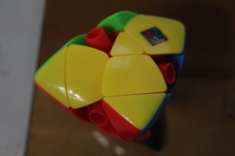 魔方教室 三階粽子 零件拆法1