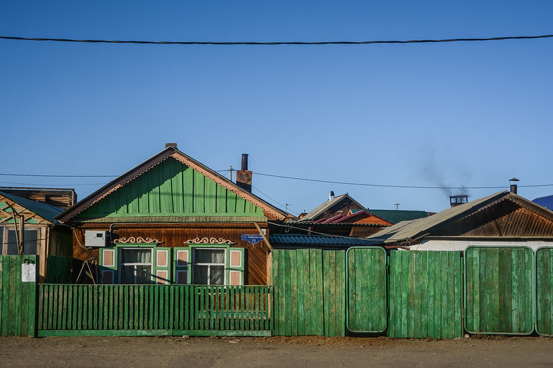 Khuzhir, Olkhon Island, Siberia.