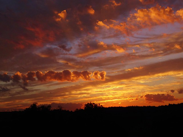 P1030767 Sunset / Sonnenuntergang, Panasonic DMC-TZ71
