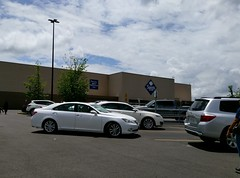 (Somewhat) closer view of the Southaven Sam's Club exterior