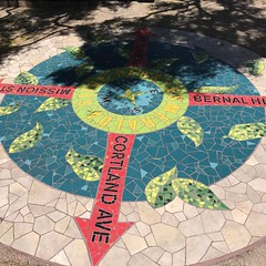 Mosaic at Esmeralda park #bernalwood #bernalheights
