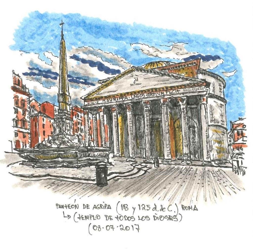 Roma. Panteón de Agripa