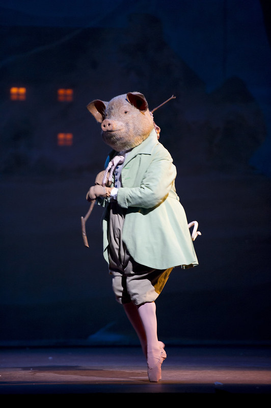 Jonathan Howells as Pigling Bland in Tales of Beatrix Potter, The Royal Ballet © ROH/Bill Cooper, 2010