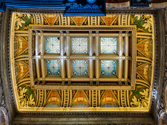 Ceiling in the Library of Congress