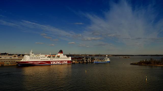 Viking Line Mariella, cruise ferry. #Helsinki #harbour