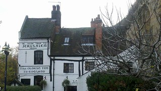 Nottingham - Oldest Pub in England