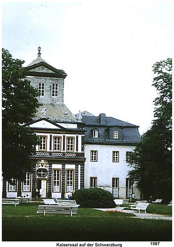 1987 - Kaisersaal auf der Schwarzburg