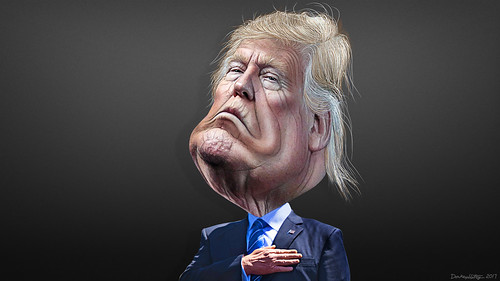 Donald Trump - Caricature