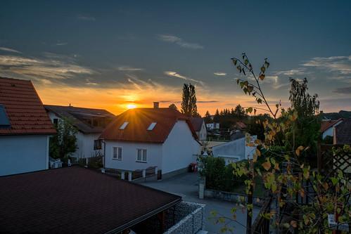 Sonnenaufgang Dietmannsdorf (HDR)