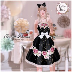 {Imeka} Grace Dress @ Cutie Loot July!