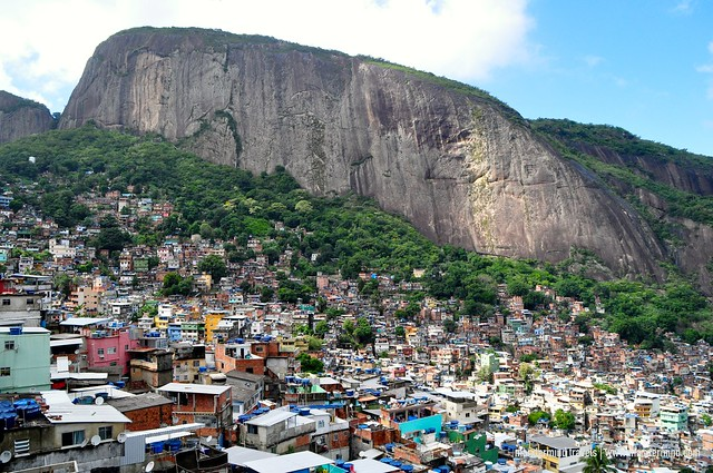 Favela Rocinho Rio de Janeiro