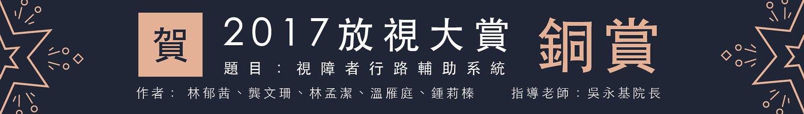 放視大賞銅賞