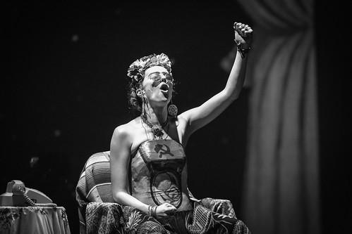 "Obra: ""Frida, una mujer enamorada"""