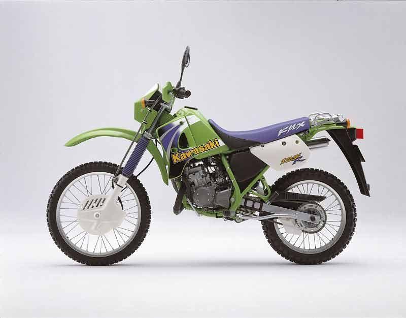 Kawasaki KMX 125 1986 - 2