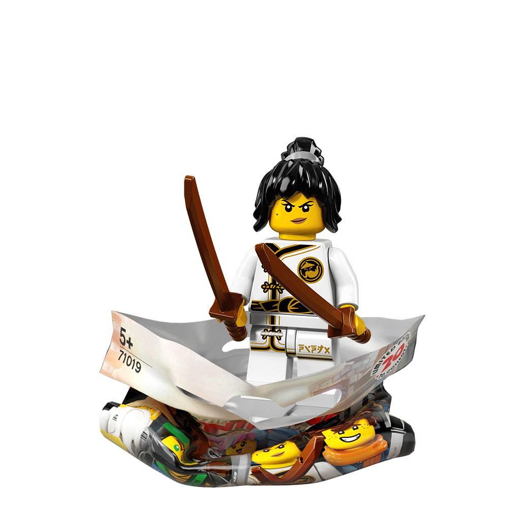 The LEGO Ninjago Movie Collectible Minifigures Series 71019 - Spinjitzu Training Nya