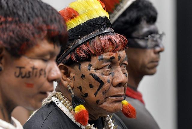 Indígenas acompanham eleição da mesa da CPI da Funai e Incra - Créditos: Antonio Cruz/Agência Brasil