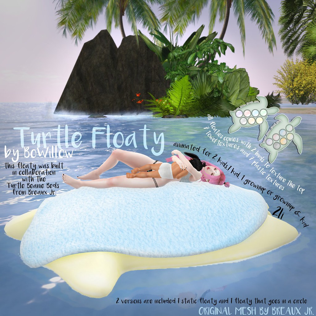 TURTLE FLOATY AD - SecondLifeHub.com