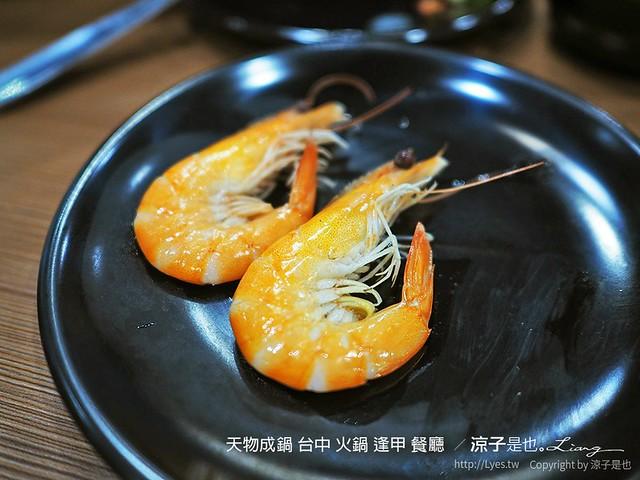 天物成鍋 台中 火鍋 逢甲 餐廳  10